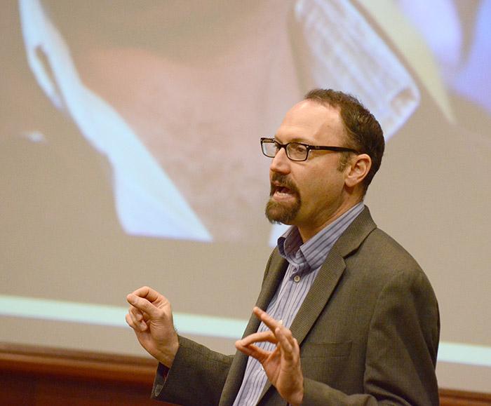 Guest lecturer Michael Best