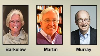 Ann Barkelew, Dick Martin, Alan Murray