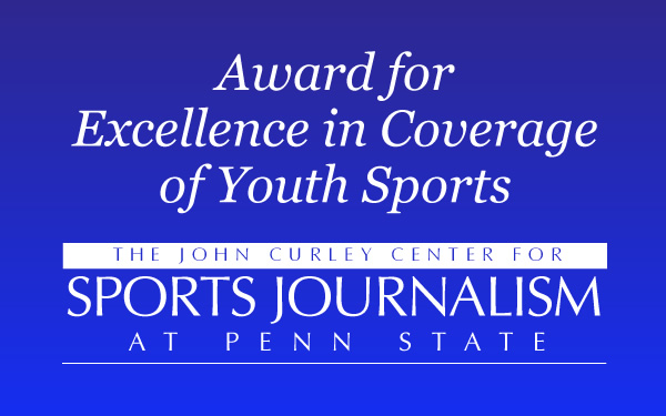 Award for Excellence in Coverage of Youth Sports Logo