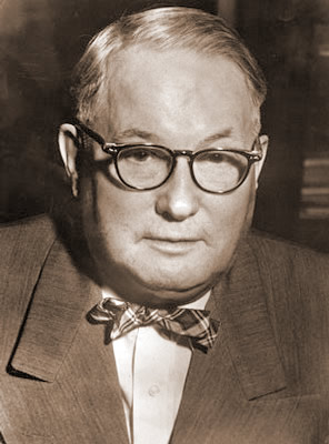 Bart Richards in a black and white photograph wearing a bow tie.