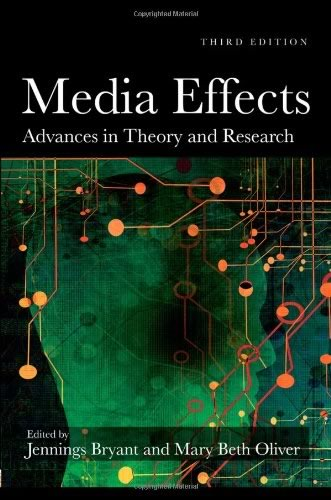 Book Cover of Media Effects - Advances in Theory and Research