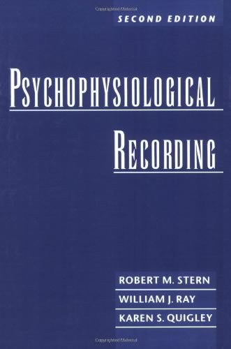 Book Cover of Psychophysiology Recording
