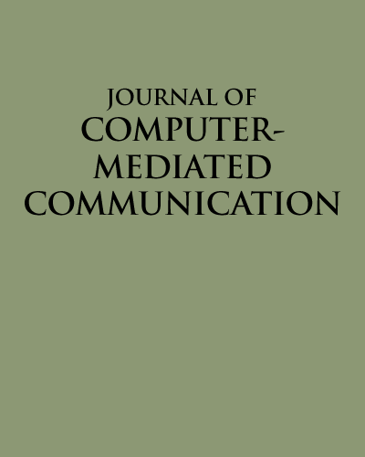 Journal of Computer-Mediated Communication Cover