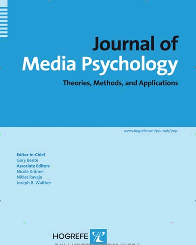 Journal of Media Psychology Cover