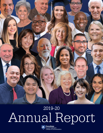 Bellisario College Annual Report Cover