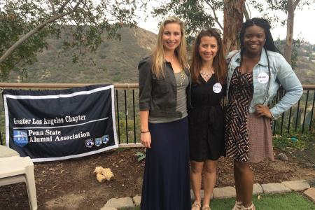 Hollywood Program students were able to meet other alumni and friends upon their arrival in Los Angeles.