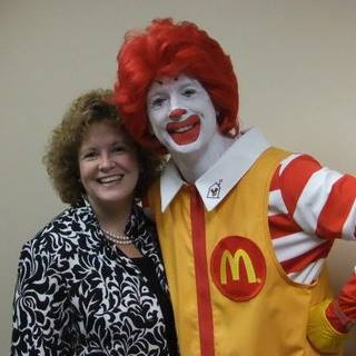 Kerry Ford Tomkowitz, Kerry Ford with Ronald McDonald