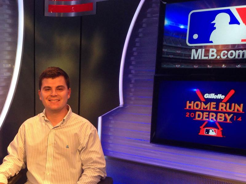 Mike Esse has an internship with MLB.com in New York City.