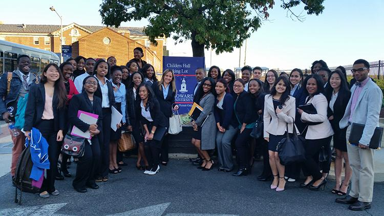 More than three dozen students from the College of Communications attended the event.