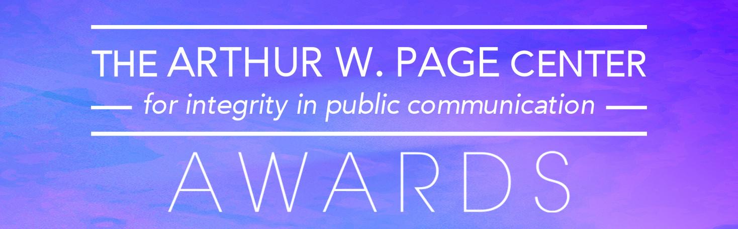 Page Awards Logo