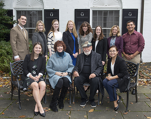 Bellisario College Fellows meet with Donald P. and Vivienne Bellisario