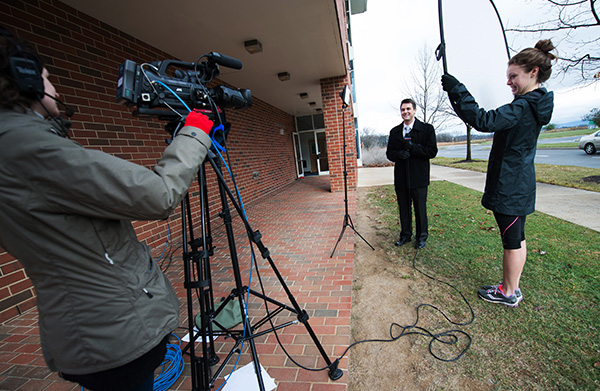CCR reporter on location