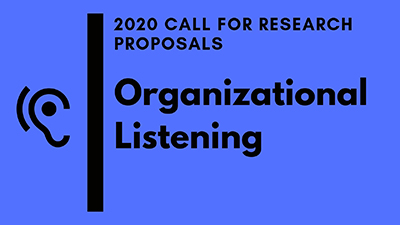 2020 Call for Proposals