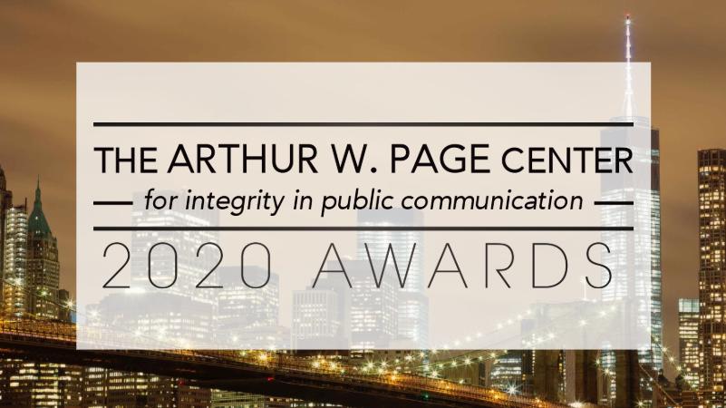 2020 Page Awards