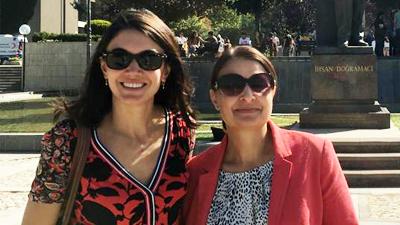 Emel Ozdora Aksak and Daniela Dimitrova