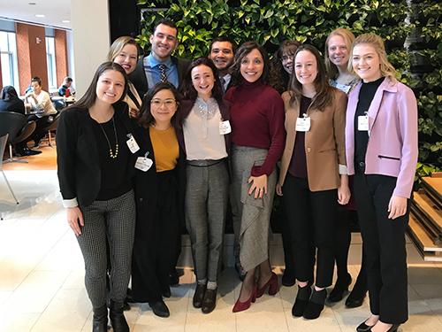 Fellows with Linda Yaccarino