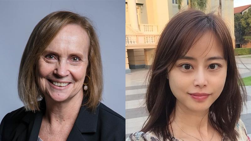 Jane Johnston and Jenny Zhengye Hou
