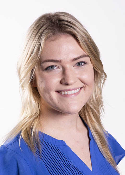 Studio headshot for Katie Gergel
