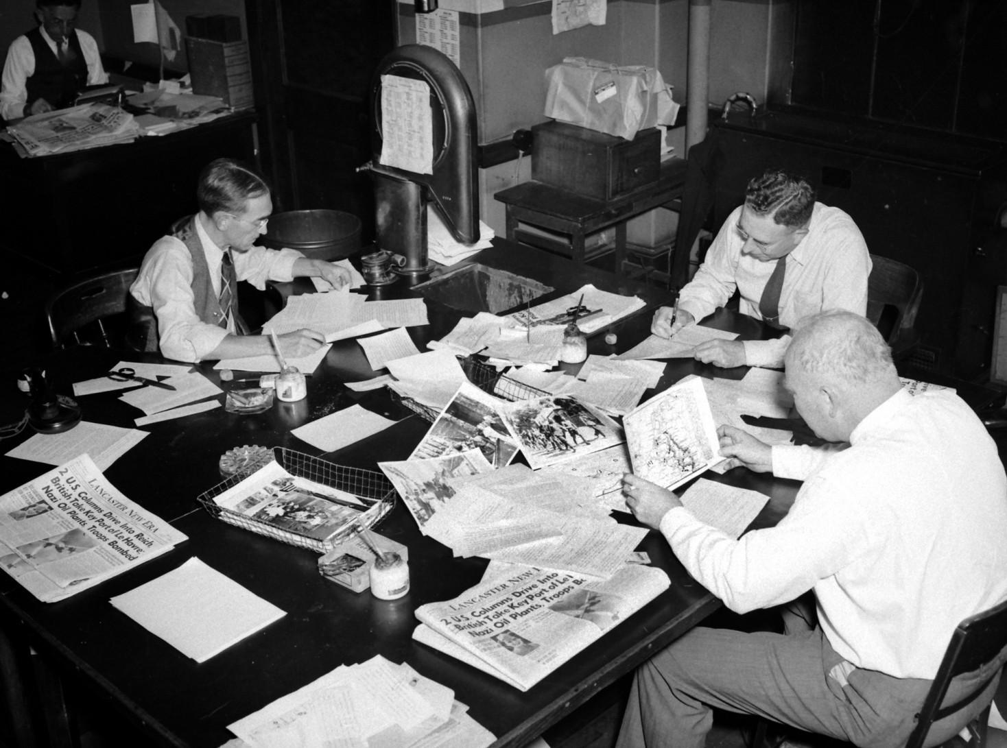 Lancaster newsroom