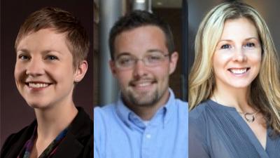 Nicole Lee, Matthew VanDyke, and Rachel Hutman