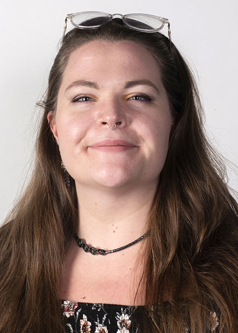 Studio headshot for Darcy  Long