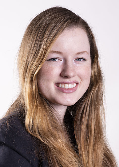 Studio headshot for Meghan  Shiels