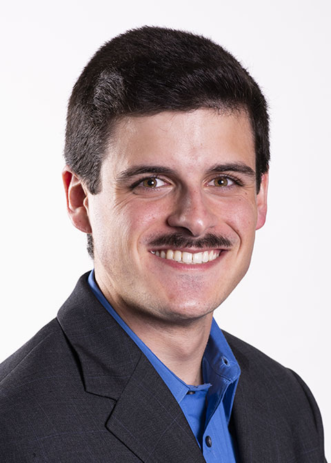 Studio headshot for Nicolas Waravdekar