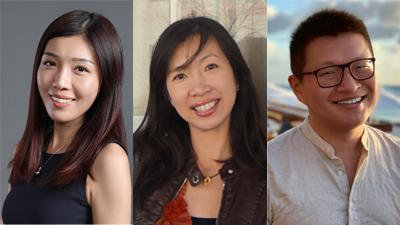 Rita Men, Sunny Tsai Alvin Zhou, and