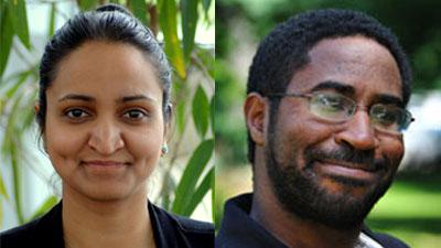 Akshaya Sreenivasan and Steve Bien-Aime