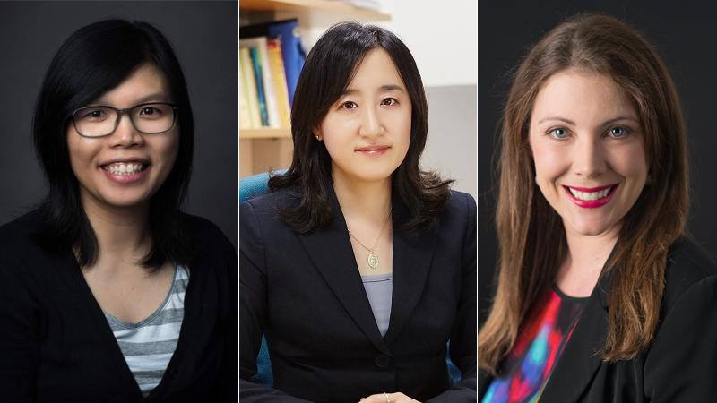 Lisa Tam, Soojin Kim, and Helen Hutchings