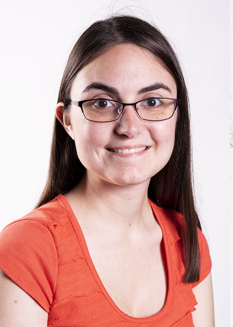 Studio headshot for Valerie Welch