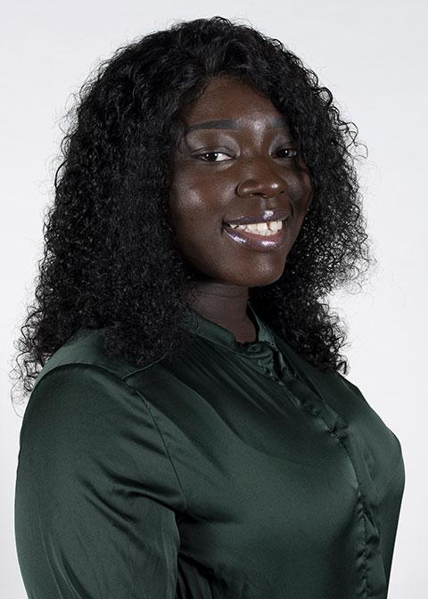 Studio headshot for Aissatou Ndiaye
