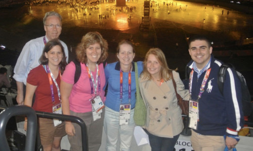 Summer Olympics, 2012, Five students provided daily coverage of the London 2012 Summer Olympic Games.