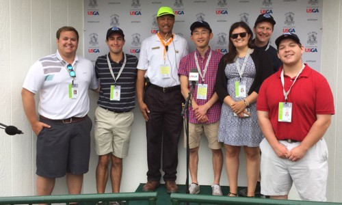 U.S. Open, 2016, Students cover 2016 U.S. Open at Oakmont Country Club.