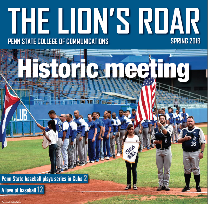 Cover image of The Lions Roar