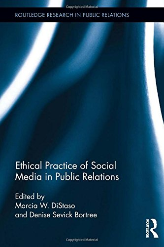 Ethical Practicd of Social Media in Public Relations Book Cover