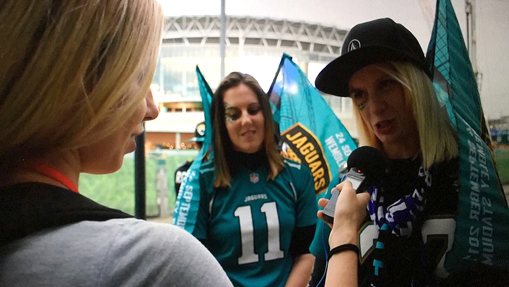 NFL London Interview
