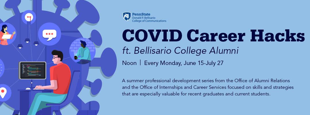 COVID Career Hacks ft. Bellisario Alumni