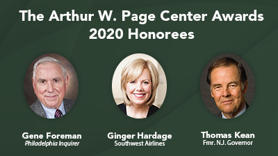 2020 honorees