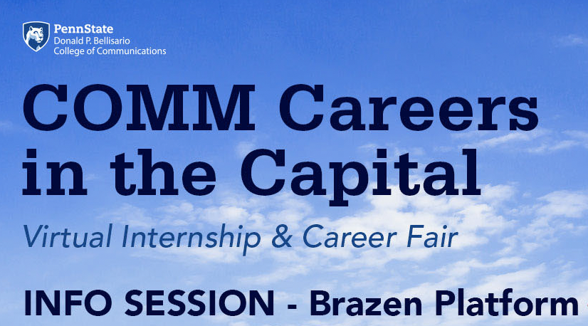 Info Session: COMM Careers in the Capital