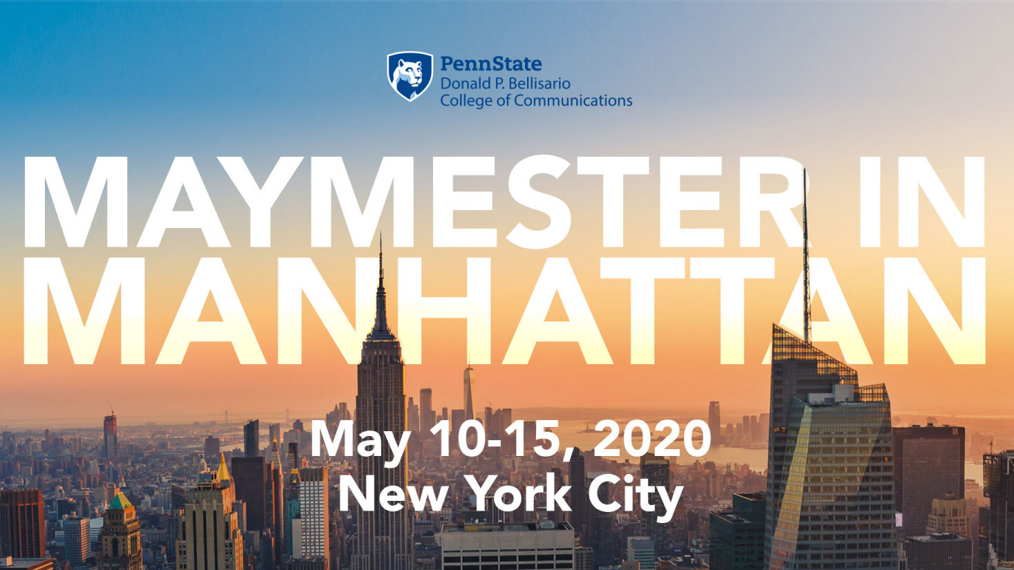 Info Session: Maymester in Manhattan