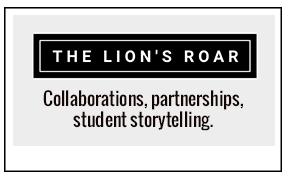 The Lion's Roar Logo