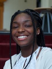 Headshot of alumni member Kaitlin Jean-Noel
