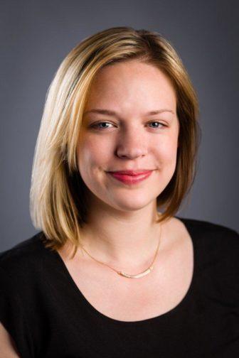 Headshot of alumni member Halle Stockton